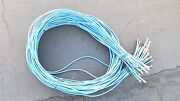 Coaxial Digital Cable For Satellite Television Tv Vcr Video 12and039 Blue Lot Of 35