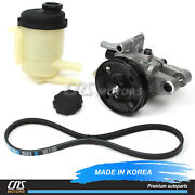 Power Steering Pump And Belt And Reservoir For 01-06 Hyundai Elantra 571002d100⭐⭐⭐⭐⭐