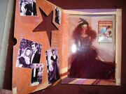 Hollywood Legends Scarlett Barbie Gone With The Wind Red Dress 1994