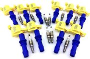 10 Ignition Coil Packs For 2004-10 F350 F450 F550 F53 And Spark Plugs V10 6.8