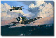 The Wolfpack By Robert Taylor- P-47 - Three Pilot Signatures- 56th Fighter Group