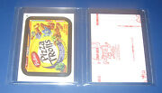 Wacky Packages Ans11 Red Ludlow 27 Pizza Trolls  Nm/mt  @@ Rare @@