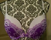 Victoria Secret Bra Very Sexy Push Up With Matching Panties New With Tags