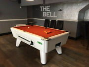 Superpool New Winner Coin Operated White Pool Table