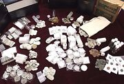 Assorted U.s. And World Coins Estate Sale Lot ☆ Silver Bars Proofs Currency Errors