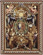 French Royal Shield Tapestry Palace Of Versailles Portiere Du Char De Triomphe