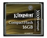 Highspeed 600x 16 Gb Compact Flash Cf Memory Card For Sony Alpha Dslr A200 A300