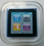 Apple Ipod Nano 8 Gb Light Blue 6th Generation New And Factory Sealed A1366