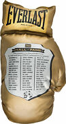 1990and039s Boxing Hall Of Fame Oversized Everlast Glove Owned By Muhammad Ali