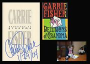 Carrie Fisher Autographed Signed Book Princess Leia Star Wars Debbie Reynolds