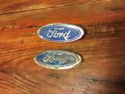 86-93 Mustang Foxbody Emblems Lot Oem Ford