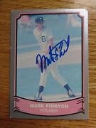 Mark Fidrych Signed Detroit Tigers 1988 Pacific Baseball Legends 62 Card