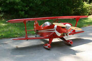 1/4 Scale Pitts Special Giant Scale Rc Airplane Printed Plans And Templates