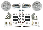 Mopar B And E Body Front Disc Brake Conversion Kit With Maxgrip Xds Rotors