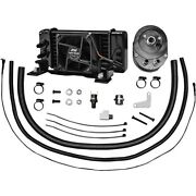 Jagg Oil Cooler Kit 751-fp2300 With Intergrated Fan For Harley 1984-2008