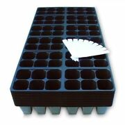 Seed Starter Trays 1440 Cells 240 Trays Plus 10 Plant Labels Germination