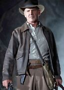Indiana Jones Harrison Ford Cow Hide Real Leather Jacket