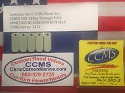 Ccms Force Sport Outboard Reed Reeds 100-140 Hp Through 1992 Pn545s