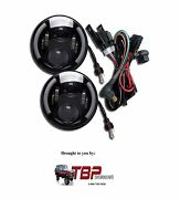 1966-1977 Early Ford Bronco Led 7 Headlights W/ Halo And W/ Harness 6000k White