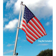Taylor Flag Pole - 24 Stainless Steel