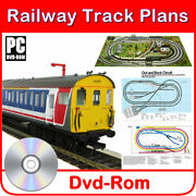 Hornby Track Plans Model Railway Train 130+ Design Layouts For 00 Gauge Oo Scale
