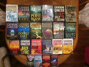 Catherine Coulter, Fbi And Brit In Fbi Series, Eleven 1st Ed./1st Prints, 22 Books