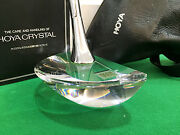 Rarest Highly Collectible Hoya Crystal Putter New-in-box Andndash Japan