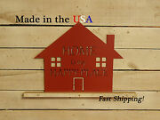 Home Sign Happy Place House-warming Gift Living Room Decor Cottage S1213
