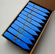 Dark Blue Plastic Plant Stakes Markers Plant Labels Nursery Tags -4 X 5/8