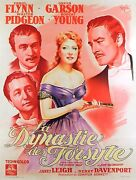 That Forsyte Woman - Original French Poster - Very Rare