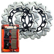 Yamaha Front Brake Disc Rotor + Pads Xjr 1300 [2001-2016] Check Compatibility