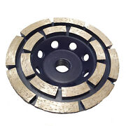 2-pack 4 Inch Cup Wheel For Fast Surface Grinding Of Concrete, Brick ,stone