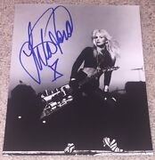 Lita Ford Signed Autograph The Runaways 8x10 Photo A W/proof