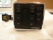 37100-98j21 Dual Engine Control Panel Start/stop Switch For Suzuki Outboard