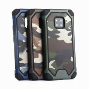 10pcs/lot 3 In 1 Tpu+pc Camouflage Hybrid Rugged Hard Cover Shockproof Case