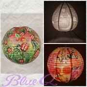 Blue Q Paper Lanterns And Table Lamps All Retired Collector Items Free Ship