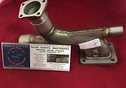 Piper Turbo Exhaust And Riser Assembly Tcm P/n 657971 P/n 654332.