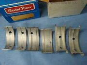 Case 188 G188b W5ag 500lk 630 640 641 Main Bearing Set 030 4 Cyl Tractor Combine