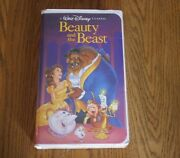 Rare Black Diamond Edition Of Beauty And The Beast Vhs 1992