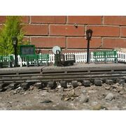 Station Accessory Pack With 5 Bench Seats Scale For Garden Railways 16mm