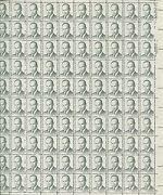 Pane Of 100 Usa Stamps 1865 American Physician Charles R Drew Brookman 120