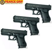 Three Pearce Grip Glock 30 G30 Grip Extensions Pg-30 Add Control And Comfort