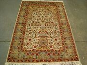 New Tree Of Life Birds Area Rugs Silk Wool Hand Knotted Carpet 6 X 4and039