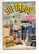 Superboy 71 1959 Krypto And Superboy Switch Minds Vg+ 4.5 Early Silver 68