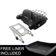 King Pack Trunk Fit For Harley Tour Pak Davidson Touring Street Road Glide 14-21