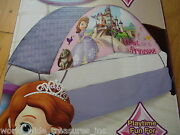 New Sofia The First Disney Princess Twin Bedroom Tent + Push Light Clothes Toy