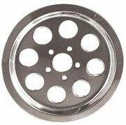 Chrome Pulley Cover Insert For Harley Xl Sportster 1991-2003 Hd 40279-91a 78172