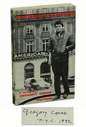 American Express By Gregory Corso Signed First Edition 1961 1st State Beats