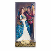 Disney Store Fairytale Designer Beauty And The Beast Belle And Gaston Le 6000 Doll
