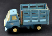 Vintage Russian Mir /peace/ МИР Metal Truck Lorry Blue Tin Toy